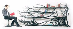 Metamorphosis bookshelf | Sebastian Errazuriz