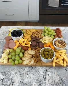 Charcuterie board // cheese board // meats and cheeses // epic boards // snack boards // snack trays // finger food // party food // easy appetizers easy videos Charcuterie by The Chic(ish) Chick Charcuterie Recipes, Charcuterie And Cheese Board, Charcuterie Platter, Cheese Boards, Charcuterie Picnic, Cheese Board Display, Charcuterie Spread, Finger Food Appetizers, Appetizer Recipes