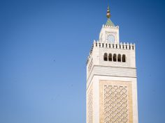 Tunis | Beautiful Minaret of Zaitouna Mosque