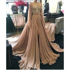 Image about dress | elegance?✨ by ✨ on We Heart It ❤ liked on Polyvore featuring dresses, heart shaped dress, brown dresses and heart dress