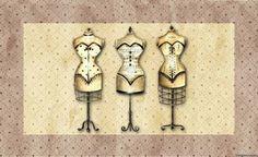 """Fashion House - o autor Lopatnёva Esperança - Todos os cartões de decoupage - cartão Catalog decoupage - Decoupage - """"Tudo sobre Decoupage"""" - ProDecoupage.com"""