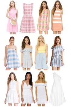 Sweet Summer Dresses - Gal Meets Glam