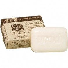 Sandalwood Soap- Handmade in India.  The best smell IN THE WORLD.