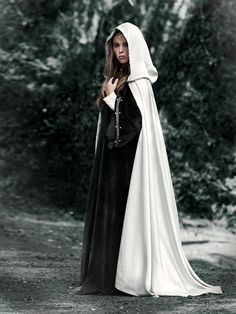 """Cloaks with hoods are common, although, the clothing is usually a natural linen/hemp color and the cloaks are tea stained, a darker earth tone. For New Eden Township of 2035-2054 in book series, """"The Biodome Chronicles""""  by Jesikah Sundin (see board for """"Legacy"""", """"Elements"""" and """"Gamemaster"""")."""