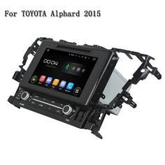 9 Inch HD Android 5.1.1 Car Audio Radio Car DVD Player For Car Radio With Bluetooth GPS Navigation For Toyota Alphard 2015