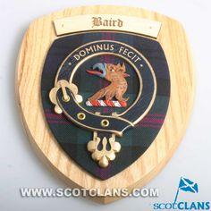Baird Clan Crest Pla
