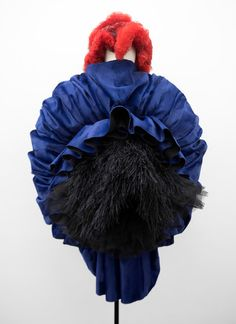 Ms. Kawakubo does not stick to the middle ground, pushing her work beyond form in this Costume Institute exhibition.