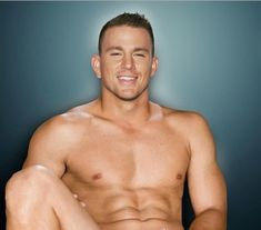 ...I think they cut something off.... a little lower please Channing Tatum