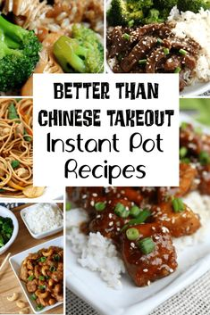 Make dinner in the Instant Pot or Crockpot instead of ordering takeout! These 23 Chinese/Asian food recipes are better than takeout and don't take much effort. recipes chicken recipes crockpot recipes easy recipes for dinner recipes healthy food recipes Instant Pot Asian Recipes, Asian Dinner Recipes, Asian Food Recipes, Instant Pot Pressure Cooker, Pressure Cooking, Slow Cooking, Asian Pressure Cooker Recipes, Chinese Slow Cooker Recipes, Crock Pot Chinese