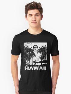 T-shirt «Aloha Hawaii - Retro Vintage Pin Up hawaïen hippie surfeur longboard danger zone Shark Lovers drôle cadeau adea», par MagicDesigner | Redbubble Danger, Tee Shirt Homme, Cool T Shirts, Funny Tshirts, Pin Up, Mens Fashion, Boys, Mens Tops, Vintage