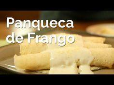 Video: Panqueca de Frango com Molho Branco - YouTube