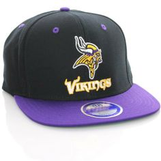 Minnesota Vikings NFL Purple Tone Vintage Snapback Flatbill Cap / Hat - RAISED LOGO by Minnesota Vikings. $14.99