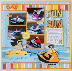 Fun in the Sun Boating
