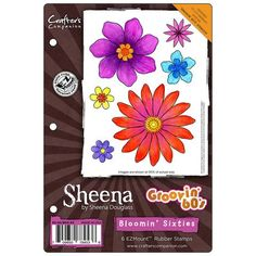Sheena's Groovin' 60's Stencils & Stamps https://www.scrapbooking-warehouse.com/collections/sheenas-groovin-60s-stencil-stamps