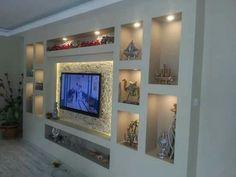 # dek-mar – Ev tadilat dekorasyon – Welcome The Tv Units Living Room Wall Units, Living Room Tv Unit Designs, Home Living Room, Living Room Decor, Tv Wall Design, Ceiling Design, House Design, Deco Tv, Tv Wanddekor
