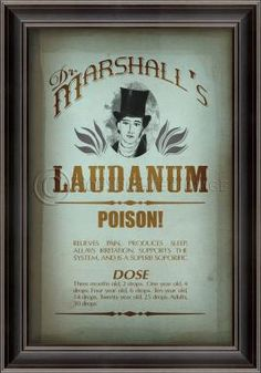 LH Dr. Marshall's Laudanum