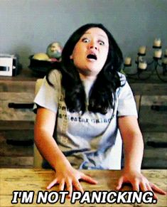 Natalie Tran XD This is basically me when I fangirl. Hysterically Funny, Community Channel, Bad Puns, Older Men, Just For Laughs, I Smile, Stress, Cool Watches, Humor