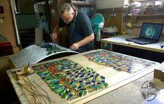 #glassatelier , #lampa , #witraż , #stainedglass , #pracownia , #bydgoszcz