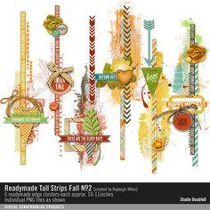 Readymade Tall Strips: Fall No. 02