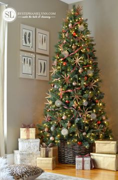 1000 images about christmas ideas on pinterest themed for Christmas trees at michaels craft store