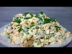 Rewelacyjna sałatka wielkanocna !!! Prosta i szybka, najlepsza! - YouTube Easter Dishes, Pasta Salad, Feta, Risotto, Potato Salad, Food And Drink, Appetizers, Potatoes, Vegetables
