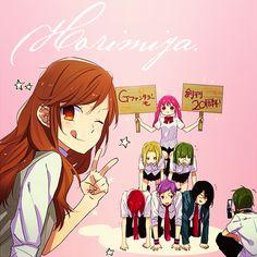 Horimiya | i'm not sorry for spamming you guys, bc i just LOVE this manga...