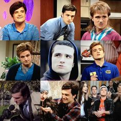 J Hutch on SNL // I think the best part of all his sketches was that he had to try so hard not to laugh. It was adorable.