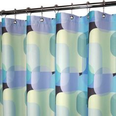 Park B. Smith® Dreamy Squares 72-Inch x 72-Inch Watershed® Shower Curtain - BedBathandBeyond.com