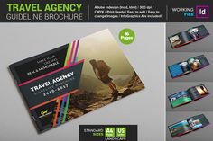 Travel Agency Guide Brochure by Layout Design Ltd on @creativemarket