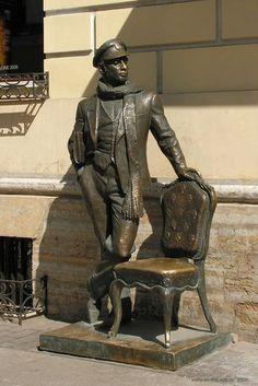 Monumentos literarios en San Petersburgo