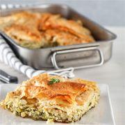 Pırasalı saray böreği Tarifi - Resimli Yemek Tarifleri - Lezzet
