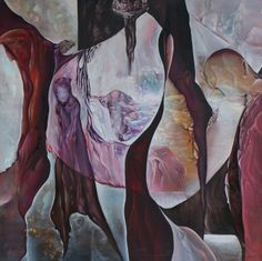 Entrance to Heaven Size: 150 x 140 cm, oil on canvas