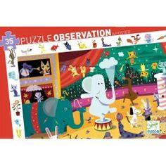 Puzzle d'observation Le cirque - Djeco