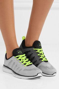 Techloom Pro Cashmere-blend Mesh Sneakers - GreenAthletic Propulsion Labs djCIA