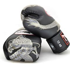 Twins Special Fancy Boxing Gloves Chinese Dragon FBGV-23S