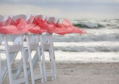 Coral sashes dance on the breeze