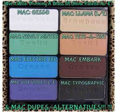 Shine Bright Like The Diamond You Are: Mac dupes