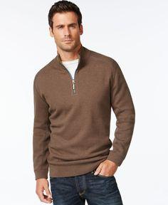 Tommy Bahama Flip Side Reversible Mock-Collar Sweater