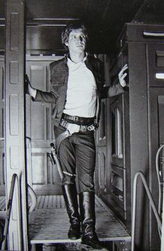 Harrison Ford... Always a classic.  Even when sporting Han Solo gear. =)