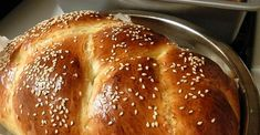 I have a two pound bread machine and use it to make the Ch… Absolutely delicious. I have a two pound bread machine and use it to make the Challah dough. It freezes well. Challah Bread Machine Recipe, Challah Bread Recipes, Bread Maker Recipes, Starter Recipes, Bagel Bread, Sicilian Recipes, Sicilian Food, Cant Stop Eating, Artisan Bread