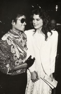 Michael Jackson & Brooke Shields ;)