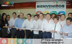 2da feria del emplero Tuxtla 2013