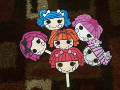 Lalaloopsy Party Masks.~Evelyn 8