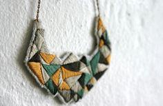 www.wearitcrochet.com-Maranoni necklace | embroidery