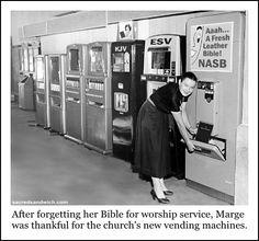 Bible vending