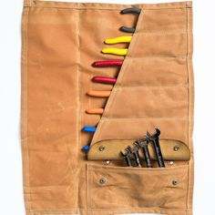 Red Clouds Collective Landseer Tool Roll by Hand-Eye Supply