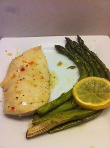 chicken asparagus, quick, easy, delish! 218 Calories, 3 Carbs, 14grams protein http://yourlighterside.com/2013/06/chicken-and-asparagus/