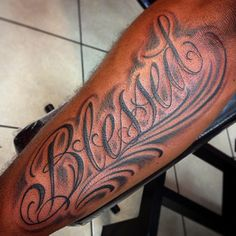Blessed Tattoos Designs Ideas and Meaning | Tattoos For You