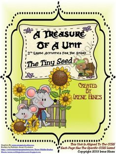 A Treasure Of Unit For 2nd Grade The Tiny Seed Written By Eric Carle