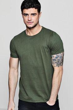 30ff3b9662d5 Basic Crew Neck T Shirt. #Cotton #Slimfit #Casual #Style #Fashion